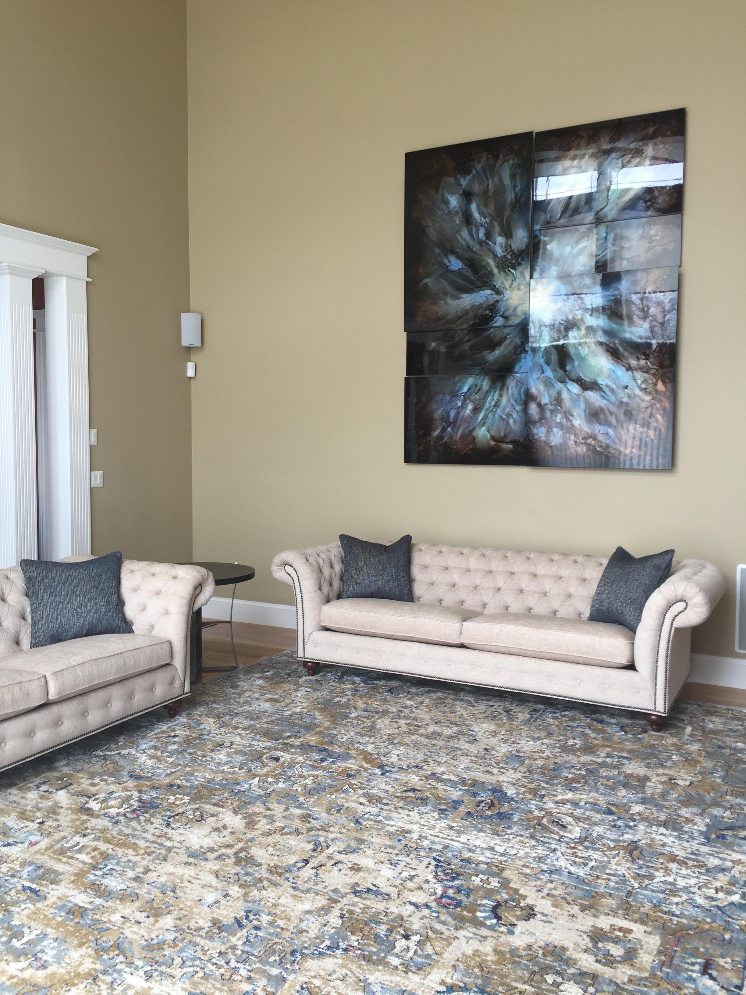 Family Room Design - Bolton, MA