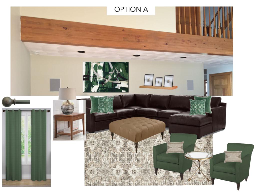 Option A - Interior Design -Dunstable MA