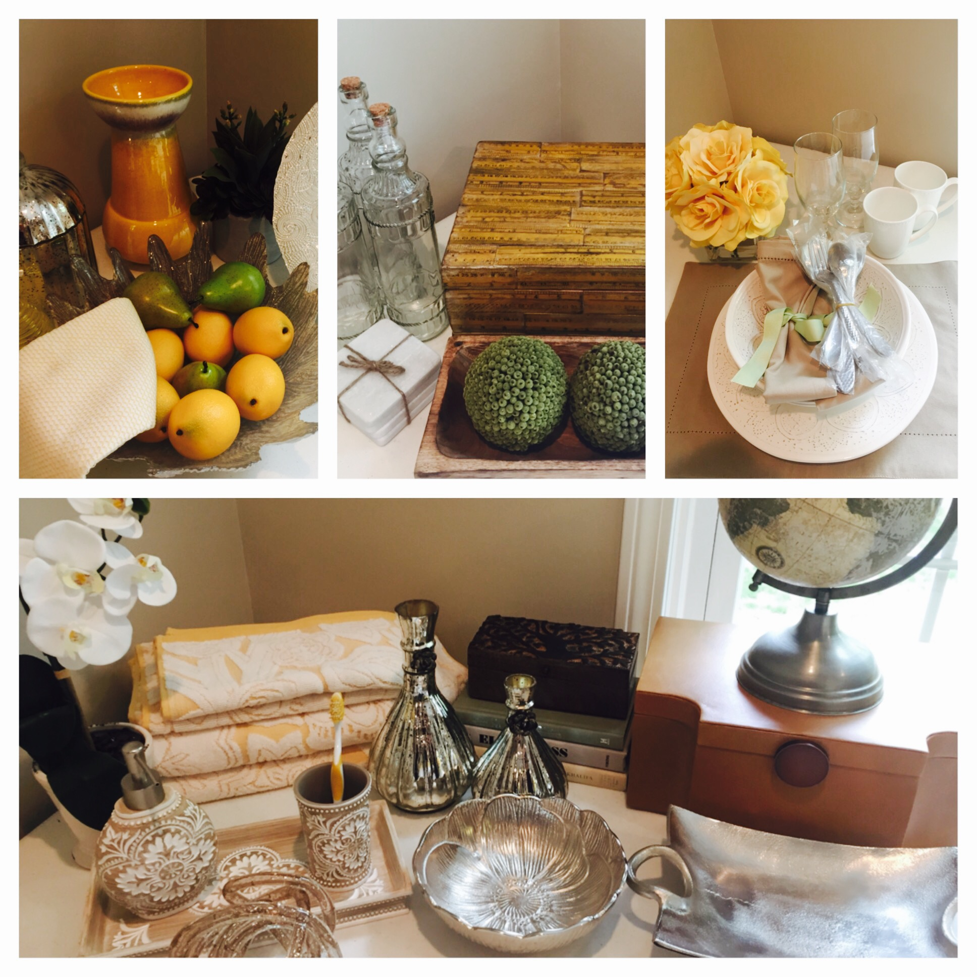 Farmhouse Rustic Glamour - Dandelion & Sage