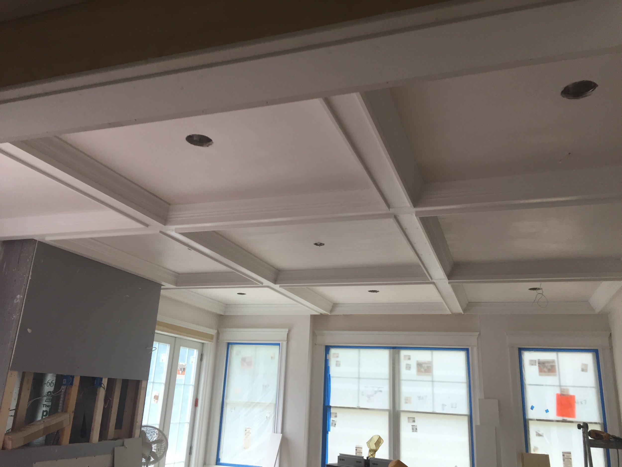 Coffered Ceiling Detail