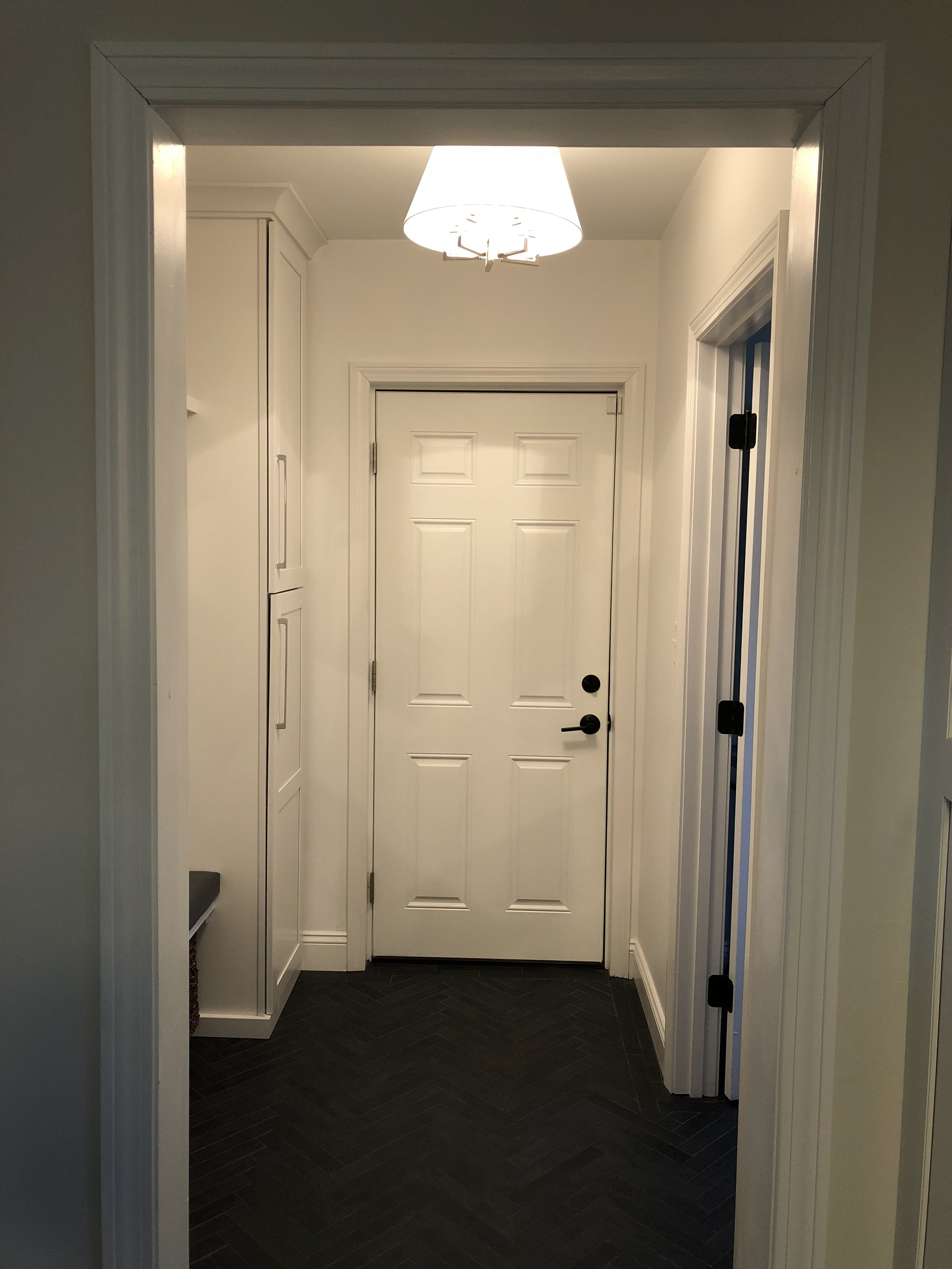 After Mudroom Renovation - Pelham, NH