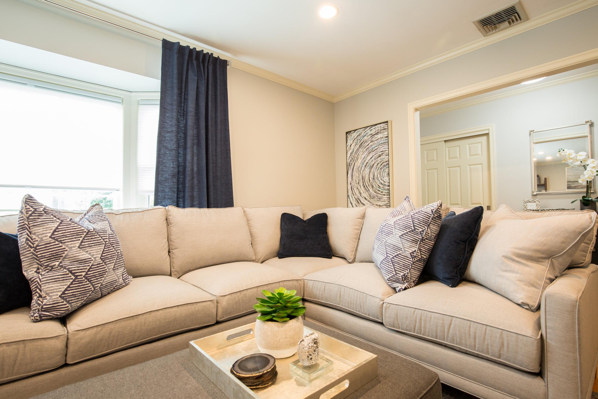 AFTER - Family Room Design - Lexington, MA