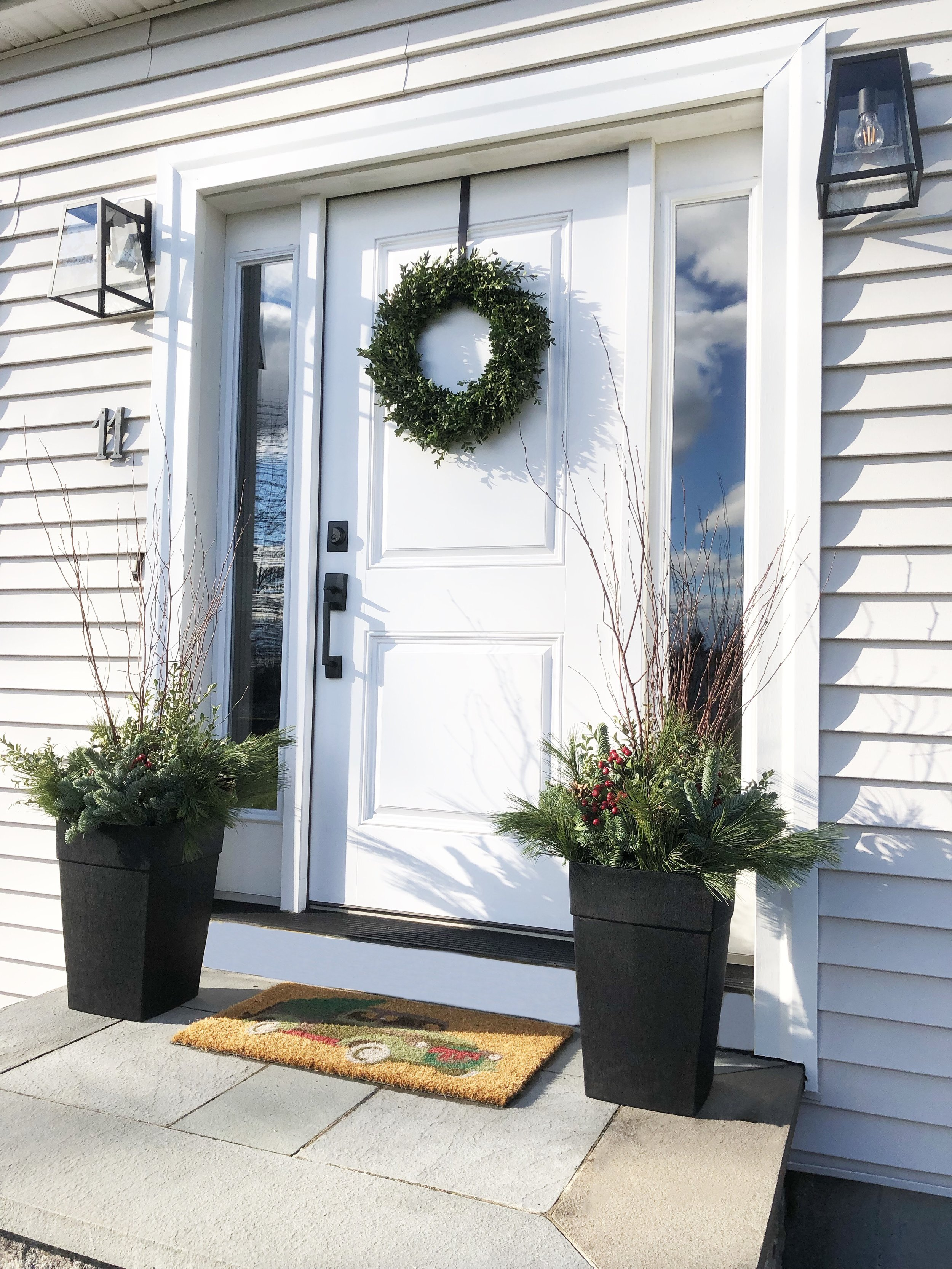 Outdoor Planter arrangement by CountryBrook Farms in Hudson, NH