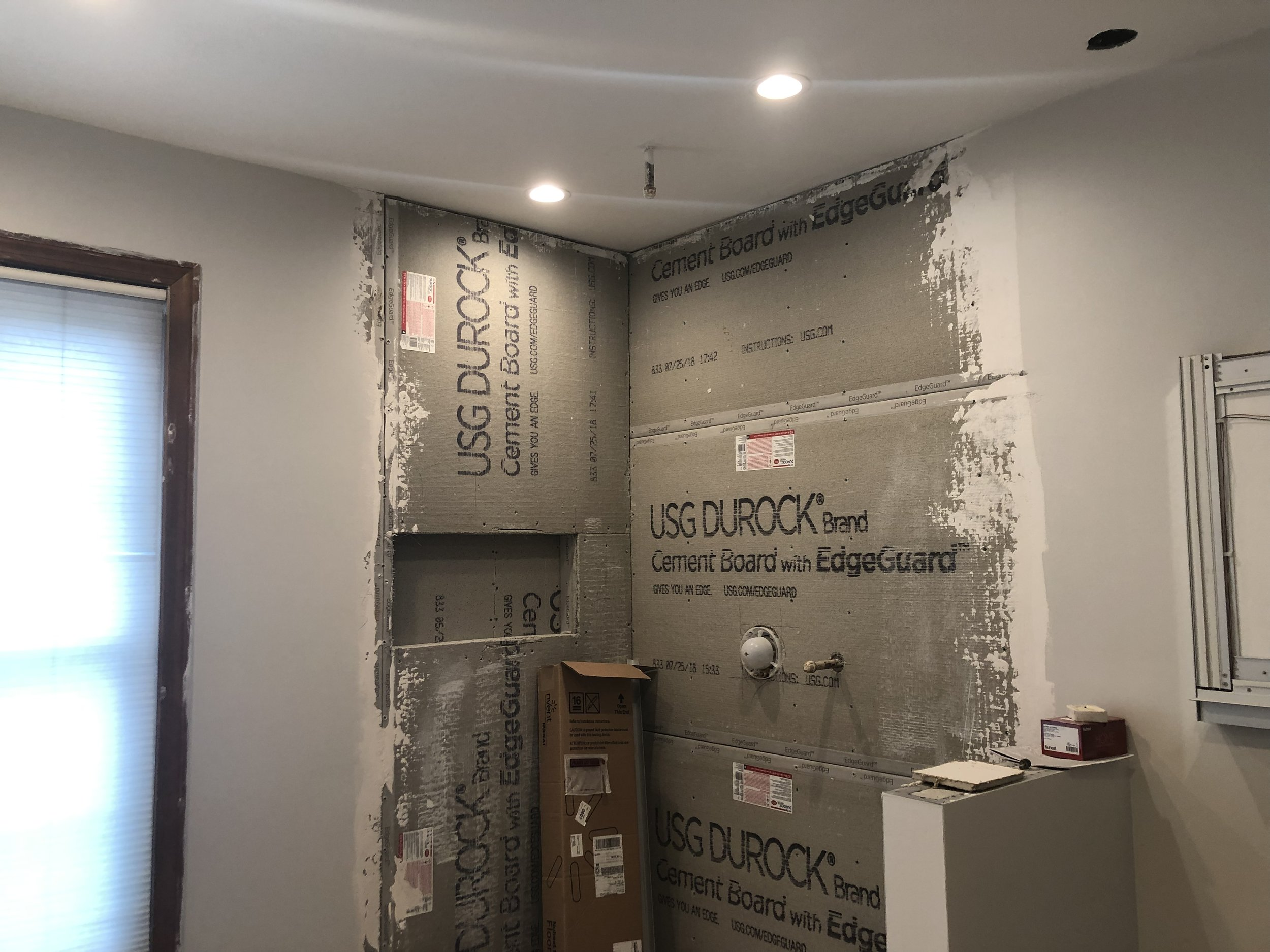 Tile Prep with Durock Cement Board
