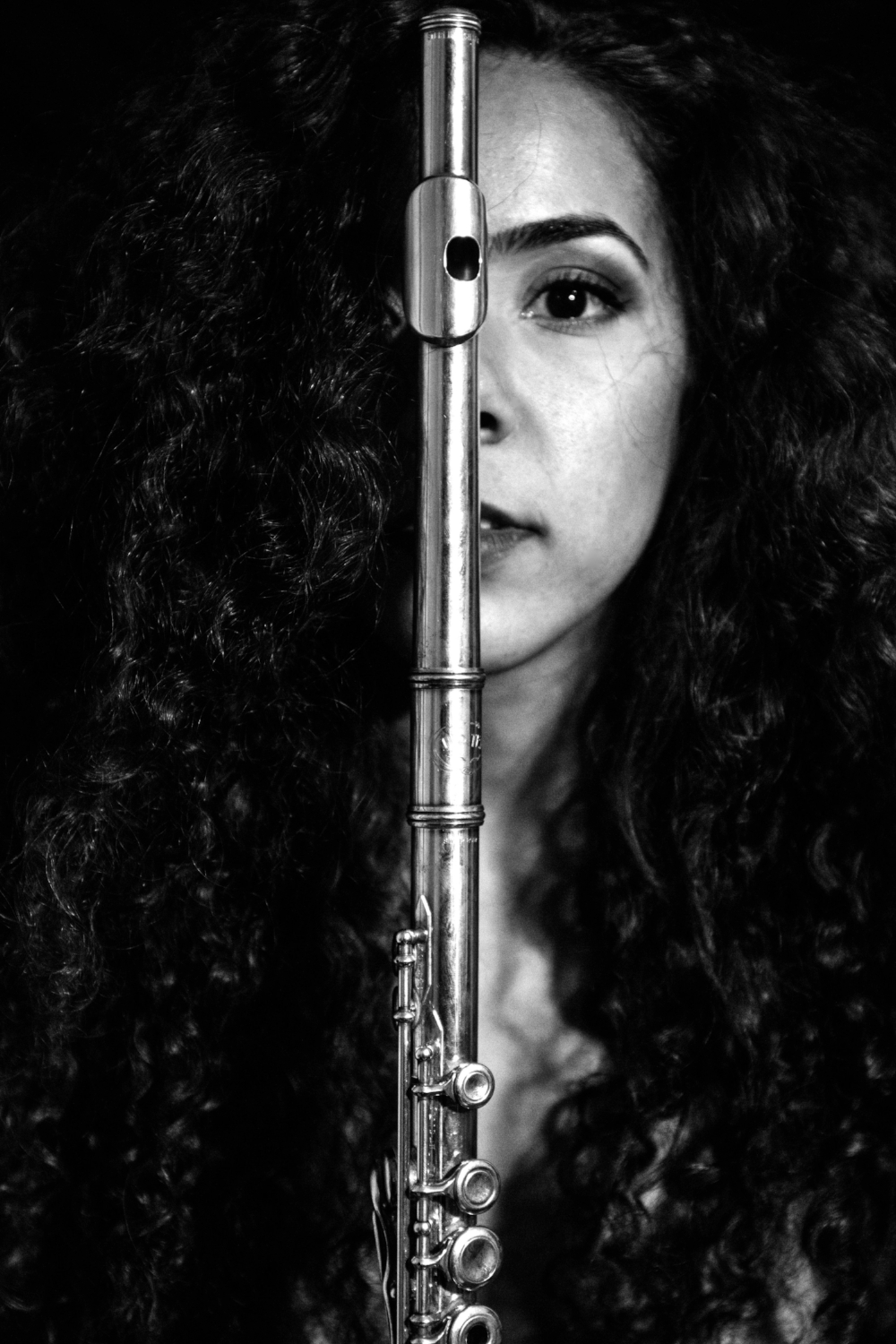 Maryem Bendaud - Flutist, Maryem Bendaoud is a soloist, chamber musician, and educator. A native Floridian, she performs with several ensembles in the area, including DuVachki Woodwind Quintet, El Trio Mio, and the South Florida Flute Orchestra. Her most recent solo appearances have been at Jureit Musicales, Boca Raton Museum of Modern Art, Max Planck Neuroscience Institute, and the Treasure Coast Flute Festival. Maryem is an avid teacher and maintains a private studio teaching young aspiring flutists.