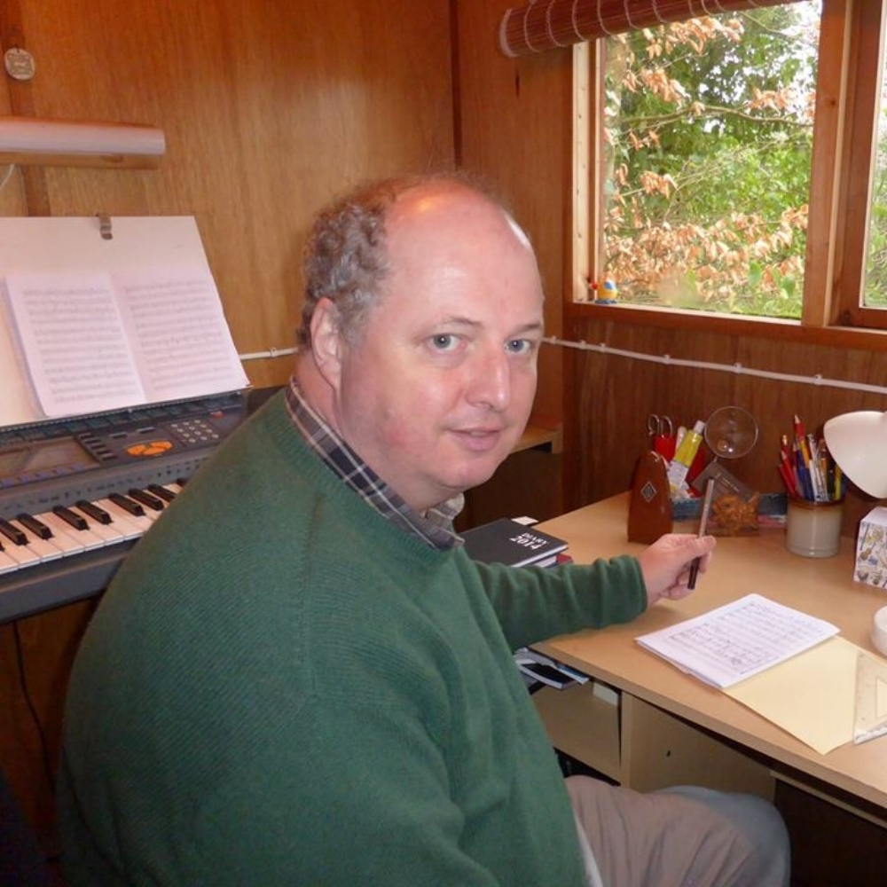 "Andrew Wilson - Rapid Transit - When I sat down to compose my piece for Project Trio, my first task was to get a feel for the ensemble itself and to determine the musical personalities of its individual members. As I watched their stunning videos and listened to the recordings, the first thing I felt was awe at PT's consummate virtuosity: I knew that these musicians could take anything I threw at them, in terms of technical challenges! The other thing that struck me was the way the trio expressed the urban spirit with their restless bustle and movement.  It wasn't long before an imaginary story board took shape in my mind's eye of a trio of city commuters making their journeys to work. Throughout the piece, they hurry and jostle, run and dodge; all the time with one eye on the clock! They scoot along the sidewalk, dive into dark subways, scurry up stairways and clatter across bridges. There are passages of comparative calm as they are whisked through the city in buses, trains and cabs, only to be disgorged into the hurrying stream of humanity once more. I hope that the listener will feel part of the breathless rushing and sigh with relief as the travellers arrive at their destination with seconds to spare! Andrew Wilson's music has been performed all over the world, from London's famous Royal Albert Hall, to the University of Wisconsin. In 2016, his children's opera ""The Green Children"" was produced to great acclaim at the Woolpit Festival. 2017 has already seen premieres of various commissions: the concert overture ""Hartland Point"" for the North Devon Sinfonia; choral and brass incidental music for the Tavistock Passion Play and ""Conversation Pieces"" for Piano Quintet by the Dante String Quartet with renowned pianist Mark Bebbington. Future plans include ""La Rosace"" an organ work for Notre Dame Cathedral Paris, a Requiem to commemorate the end of World War One in Plymouth Minster and a large scale choral work on the subject of the Pilgrim Fathers, for the 400th anniversary celebrations of the sailing of the ""Maylower"", in the port of Southampton. He lives with his wife, in the beautiful English town of Tavistock, on the edge of Dartmoor National Park."