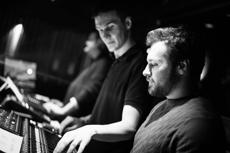 John, Josh & Nico - sound & lights crew