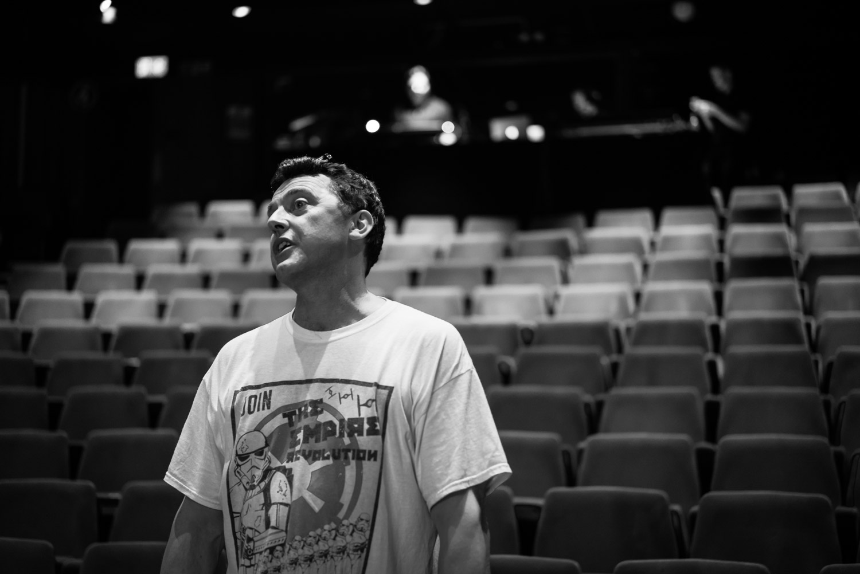 Gavin Thomas - technical rehearsals