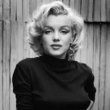 Marilyn Monroe, a celebrity who was adored but treated very, very badly.