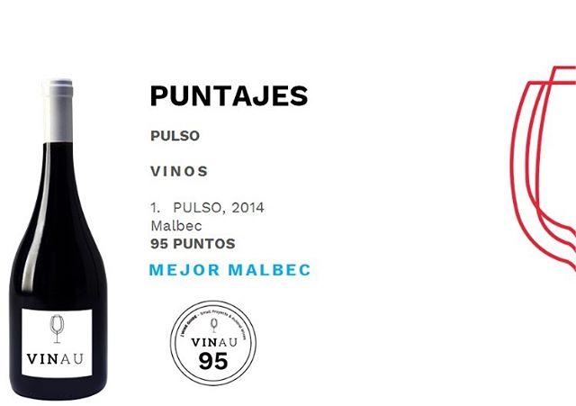 Buenas noticias!! Gracias @guiavinau #pulsowines #mejormalbec #vinohechoamano #vinochileno