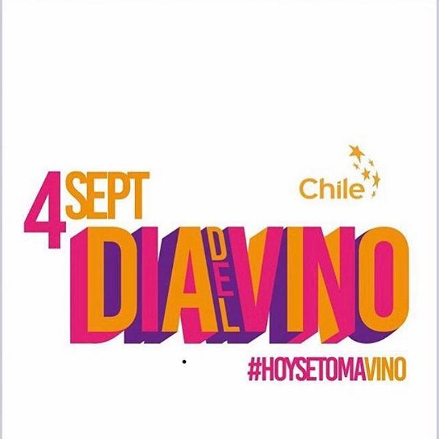 A tomar vino chileno!!! #4septiembrediadelvino #vinochileno #pulsowines #vinohechoamano #chile #wine #winelover