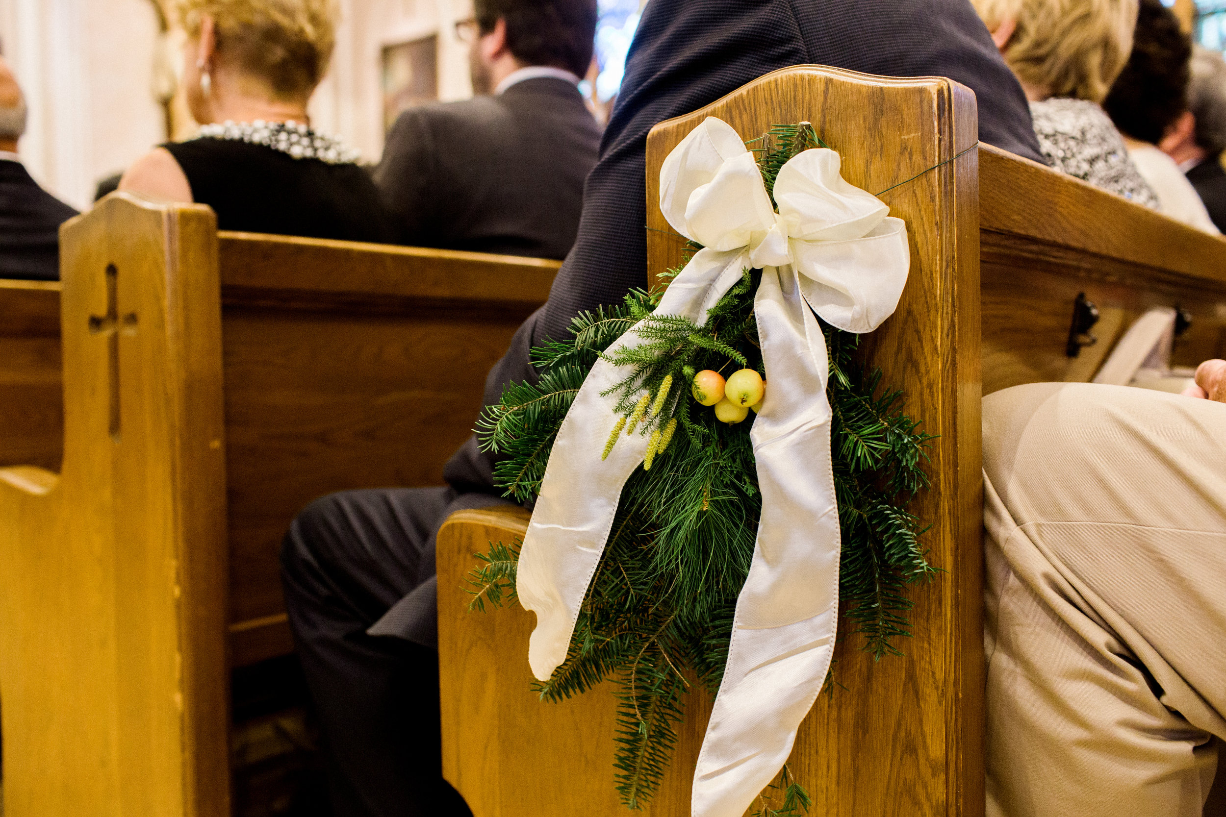 hemlock_pine_wedding_pew_decor