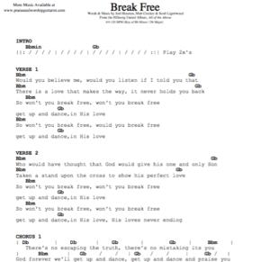 Hillsong United: Break Free — Praise & Worship Guitarist