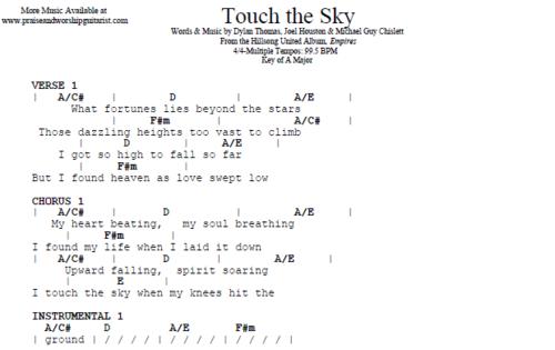 HIllsong: Touch the Sky — Praise & Worship Guitarist