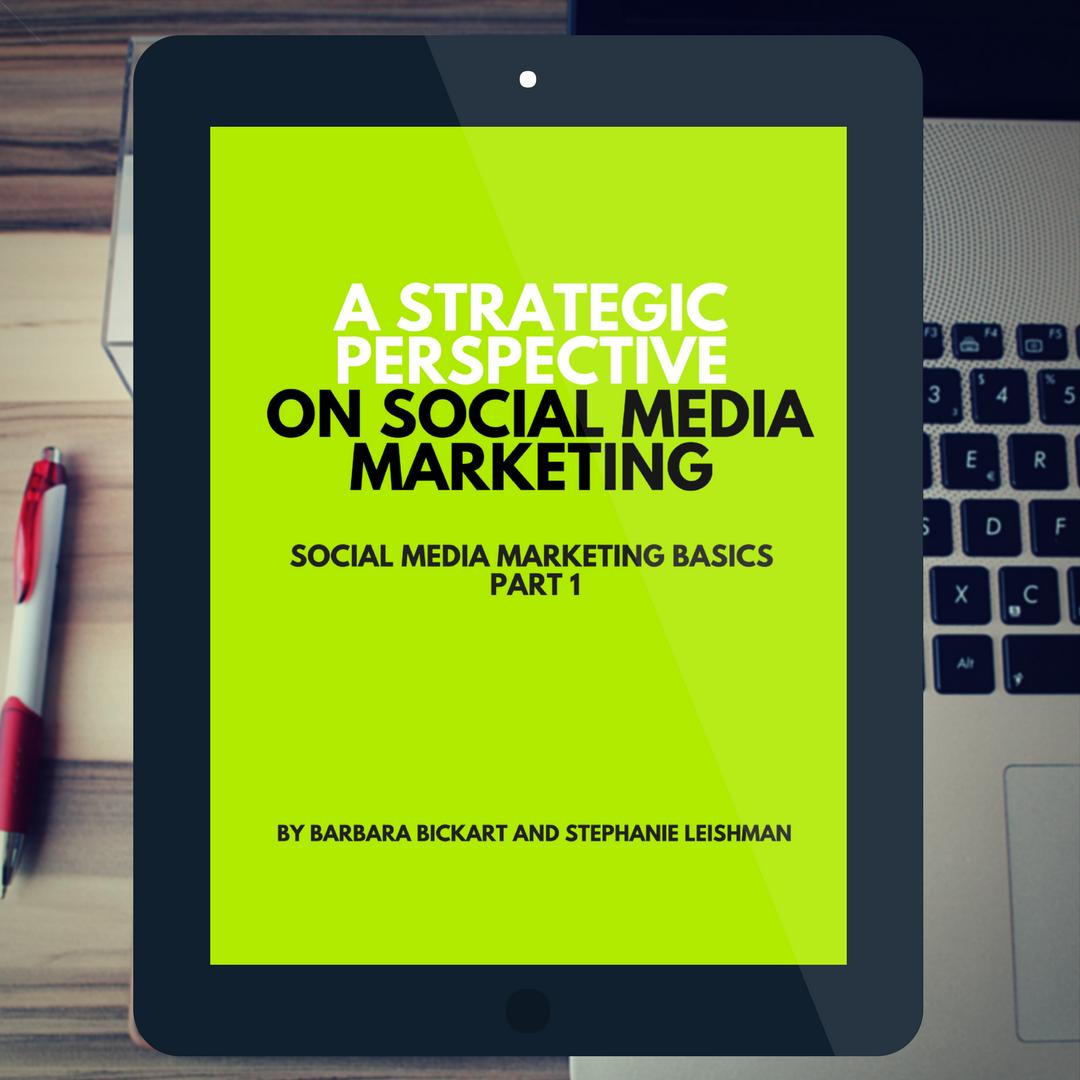 A Strategic Perspective on Social Media Marketing: Social Media Marketing Basics, Part 1 by Barbara Bickart and Stephanie Leishman