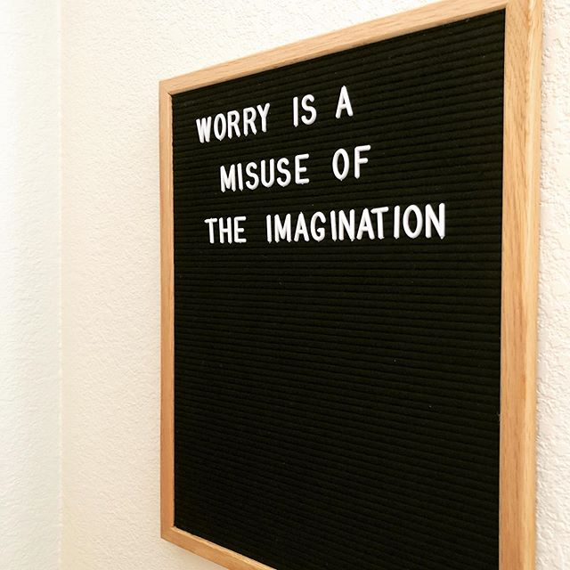 If you worry a lot, good news. It means you have an imagination. You're just imagining the wrong things (the worst-case scenario). Today, close your eyes and imagine the best-case scenario. What are you doing? How do you feel? How's business going? Take time to #visualize every day - science says this helps you achieve #success because you've imagined it first. #imagine