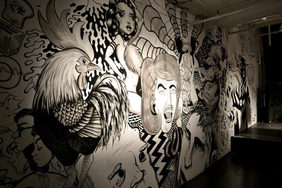 Octobre 2012 - Montréal - Performance w/ Collectif En Masse