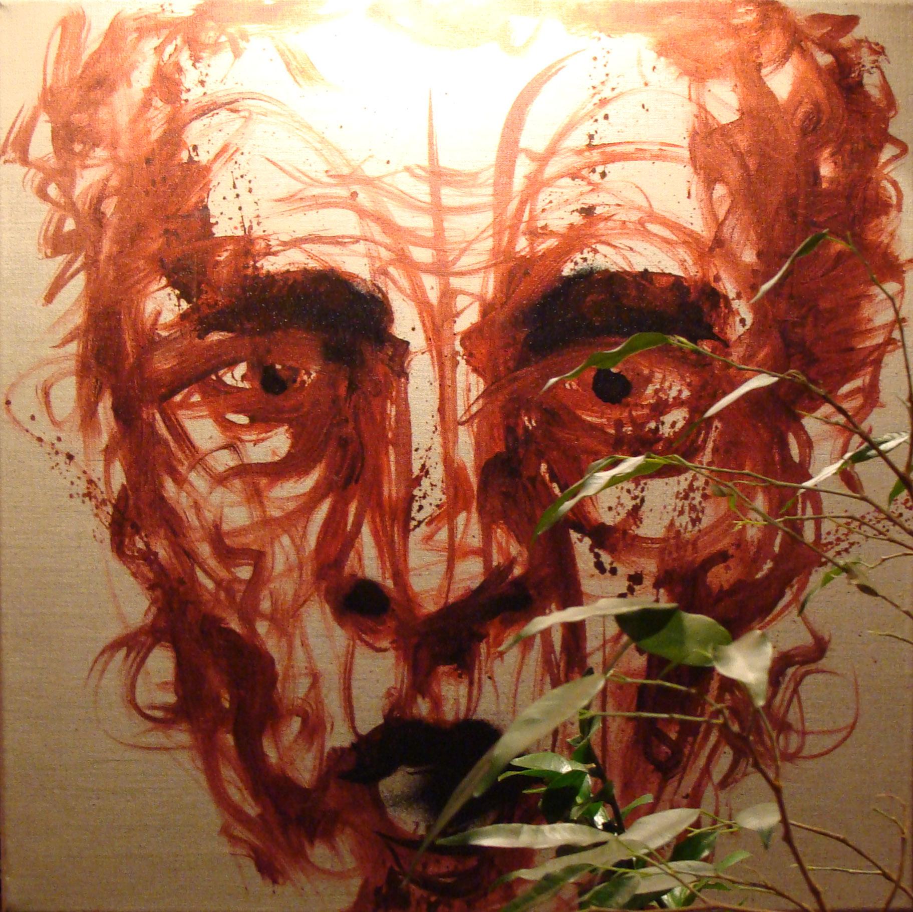 Janvier 2012 - Huile sur toile - Oil Man II