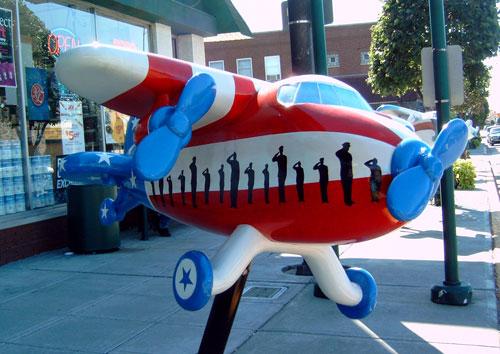 Lansing Tri Plane Fiberglass Exhibit