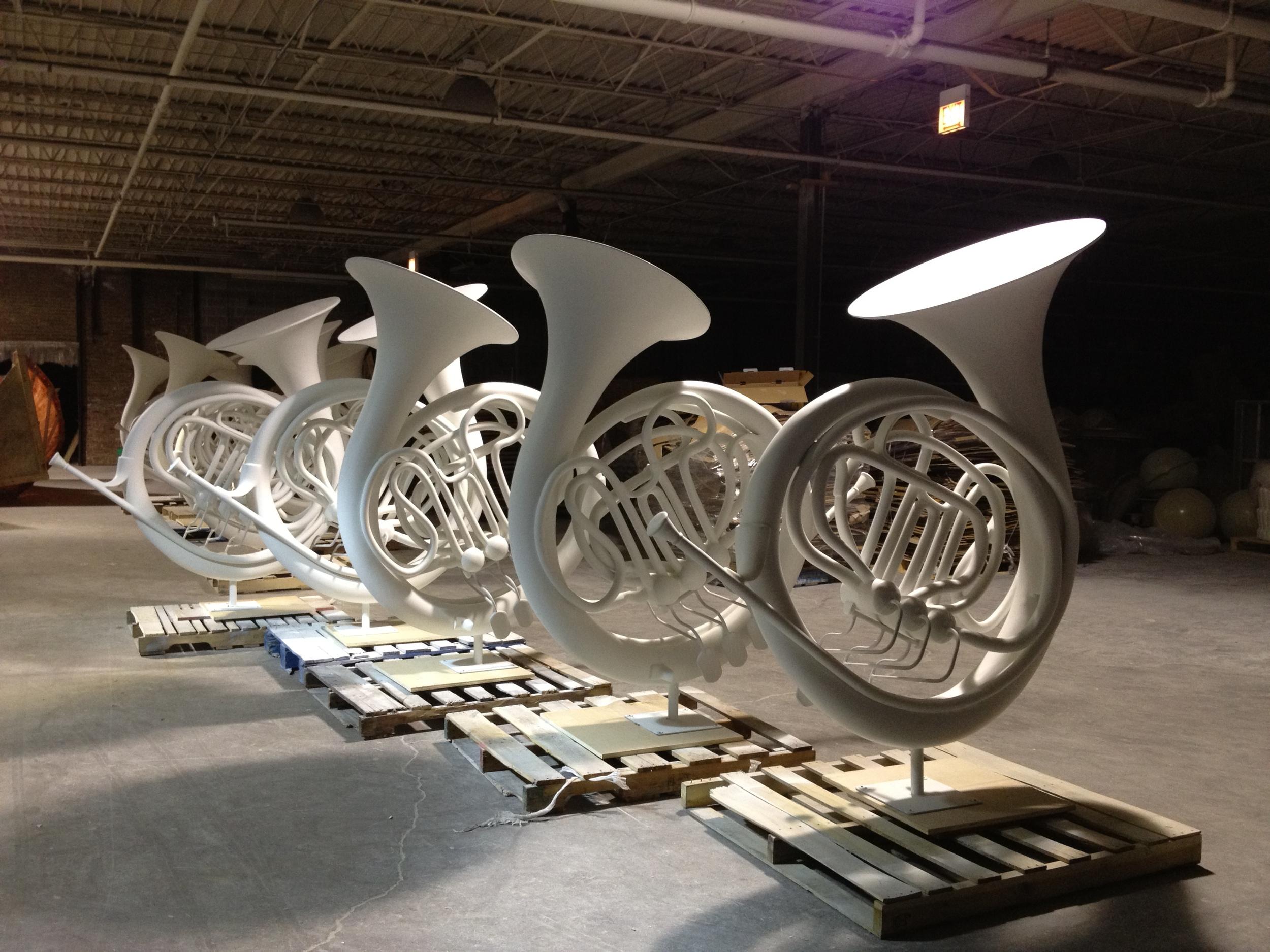 Fiberglass French Horn