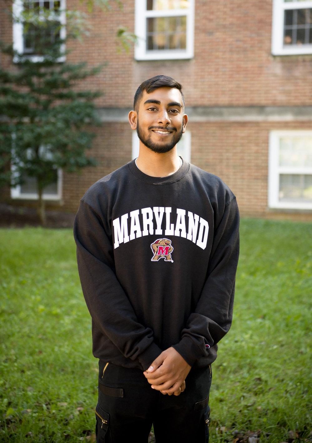 Joshua Pooranmal - Senior, Computer Science