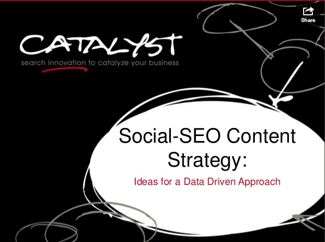 Catalyst Slideshare