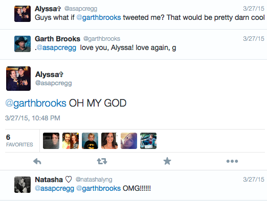 Garth Brooks fan engagement