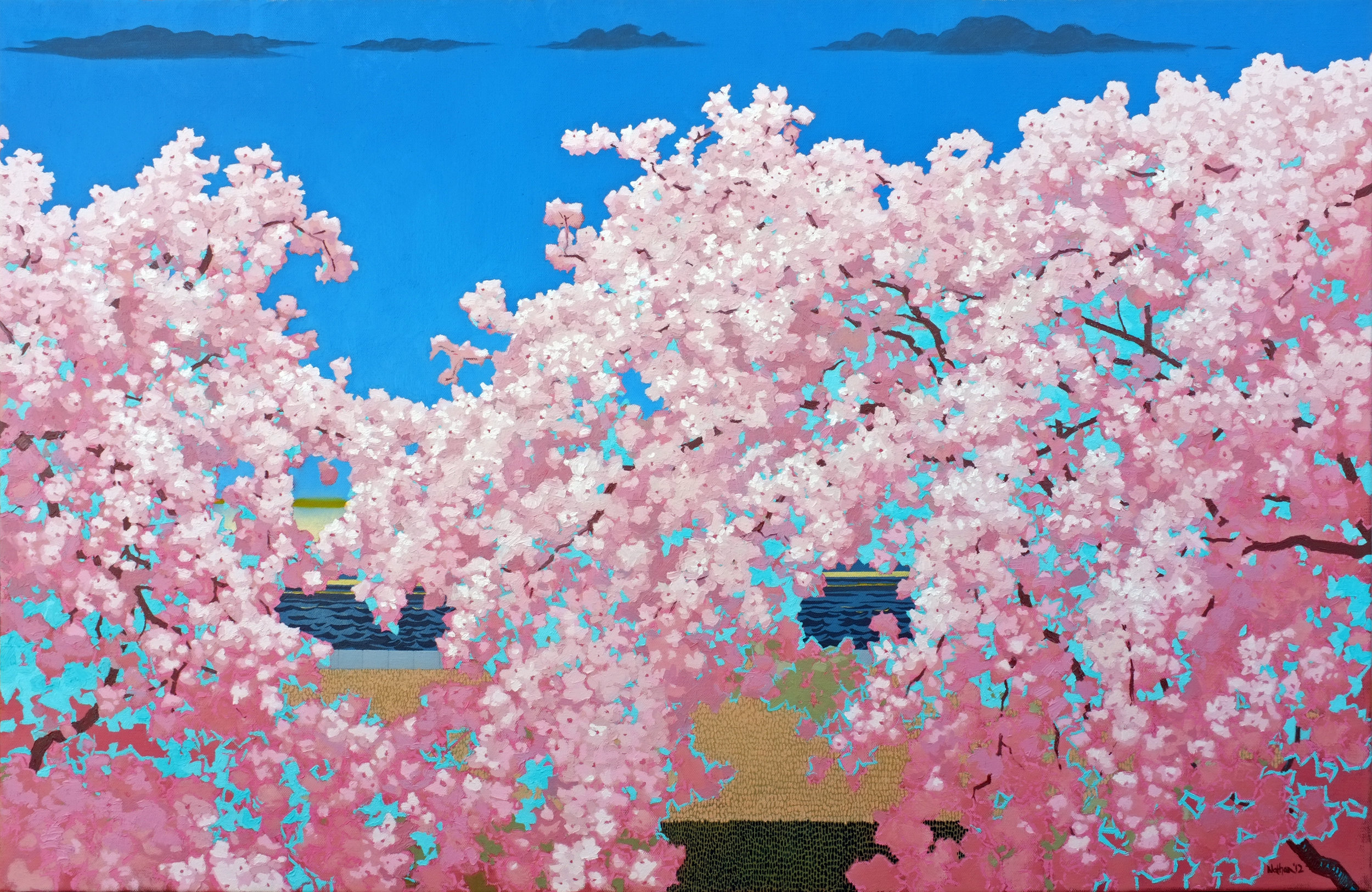 """""""Cherry Blossoms"""" by Nathan Mellott from  Bat City Review  Issue 12"""
