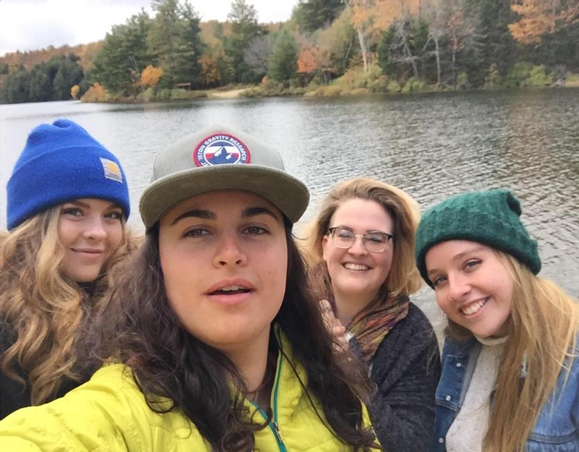 Left to Right: MacKenzie, Molly, Me (Angela), Grace