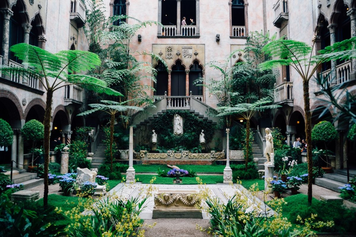 Isabella Stewart Gardner Museum - At the center one of the largest unsolved art heists is this museum.