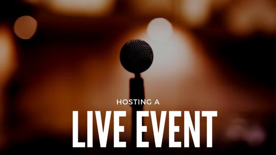 hosting-a-live-event