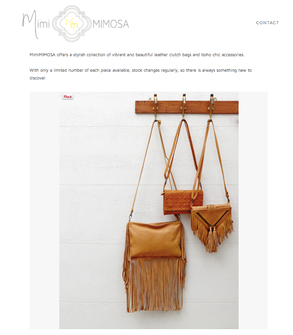 MimiMimosa | Bags & Clutches