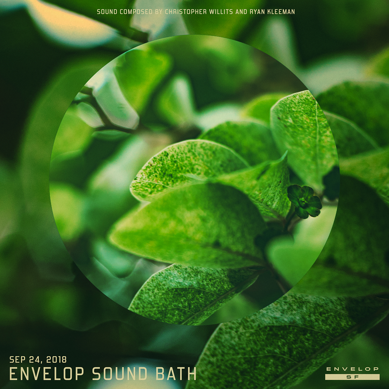 Envelop Sound Bath  Mon, September 24, 2018 | At Envelop SF | 7:30 PM doors