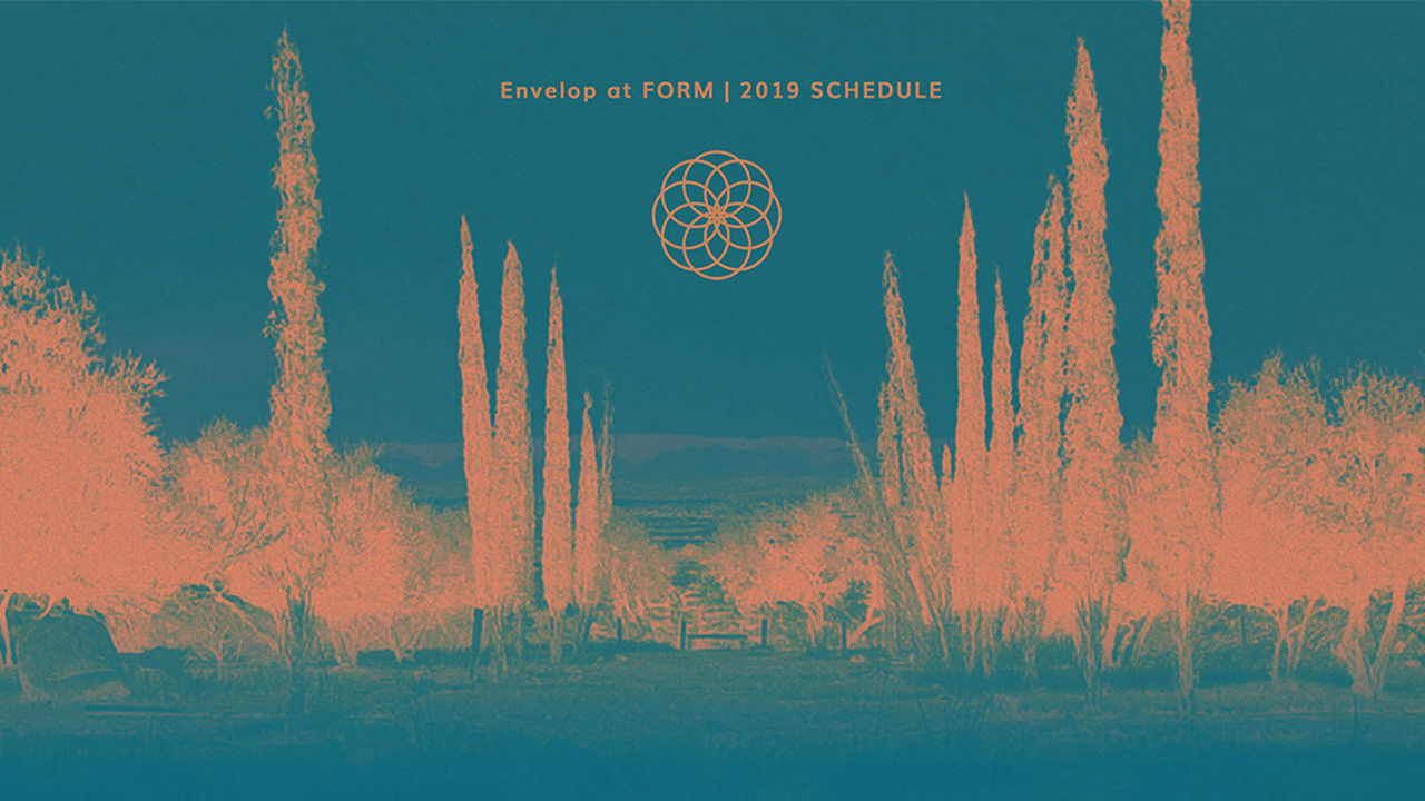 Envelop at FORM   Fri - Sun May 10-12, 2019 | At FORM Arcosanti, AZ