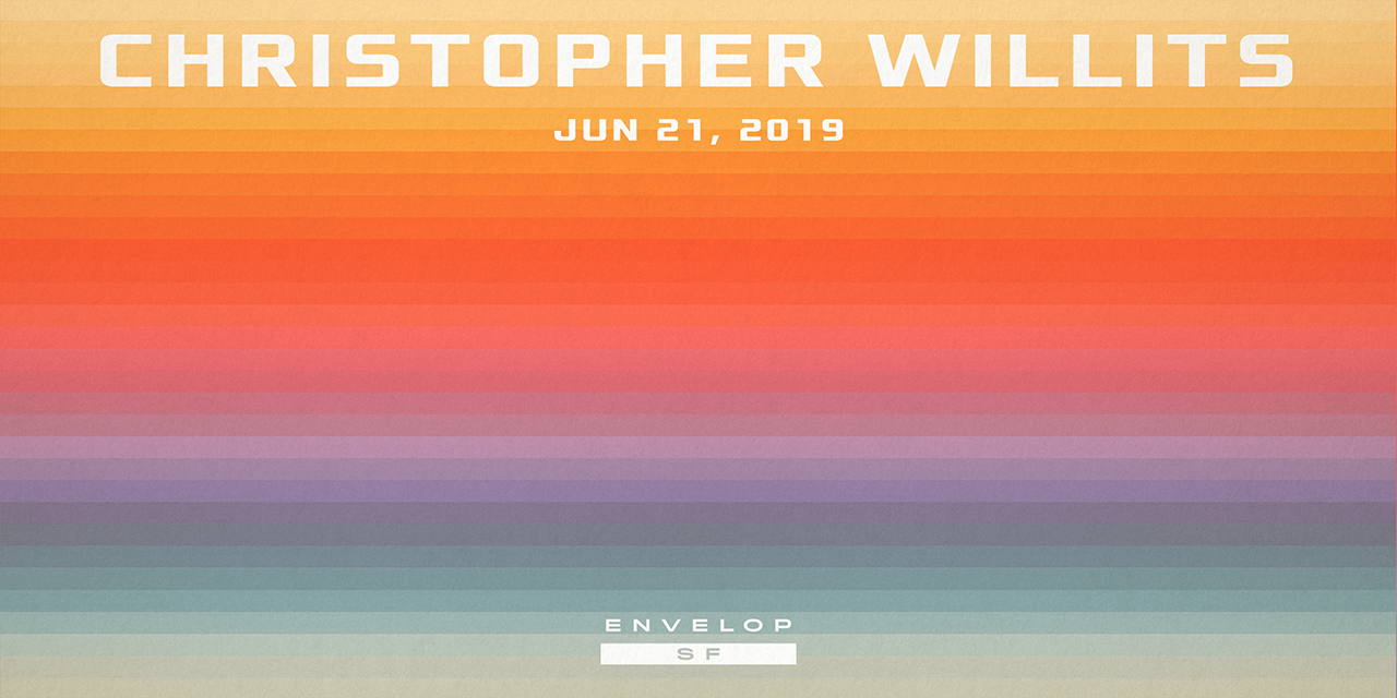 Christopher Willits - Sunset - Live Performance   Fri June 21, 2019 | At Envelop SF