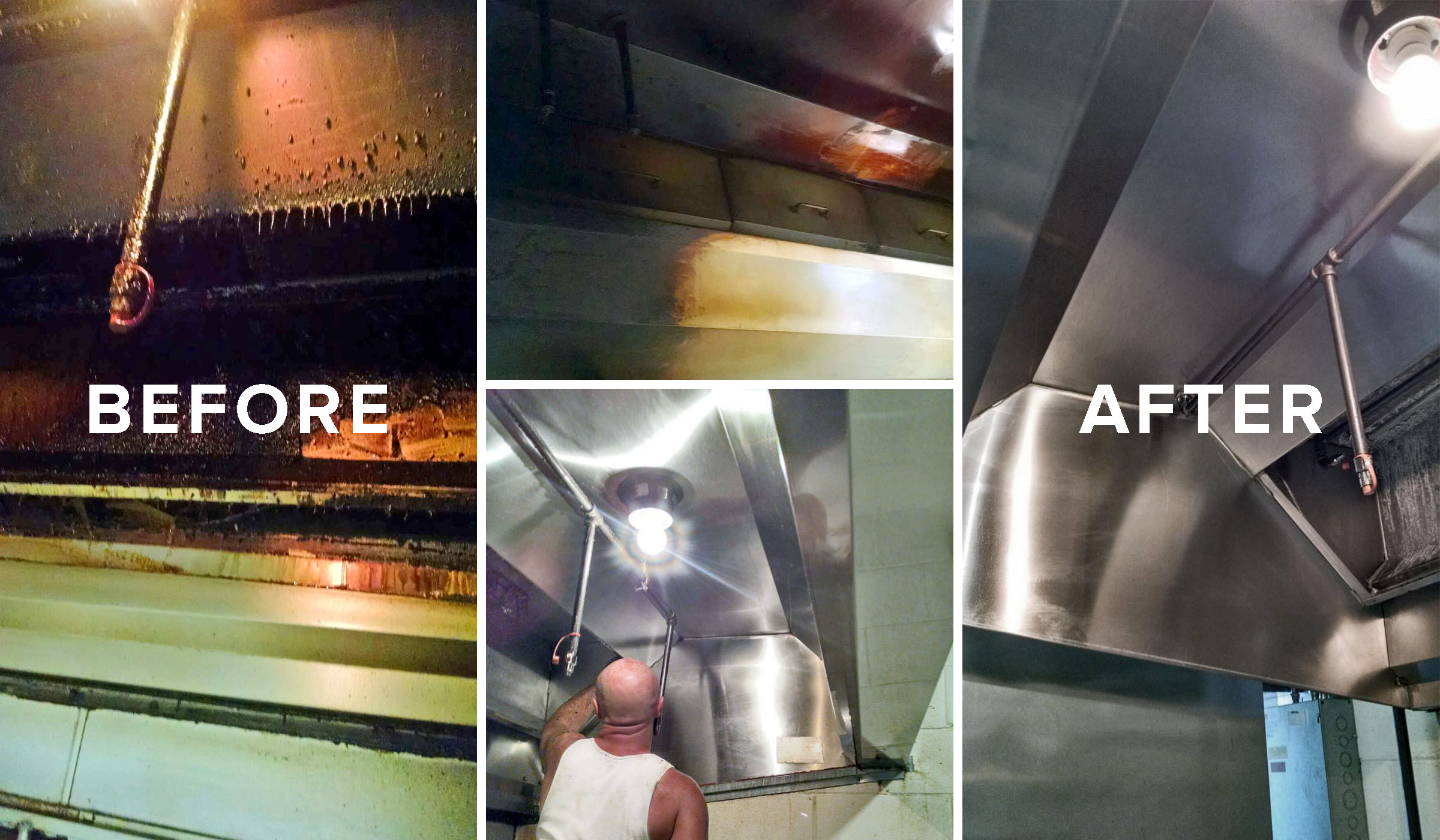 commercial kitchen & hood cleaning