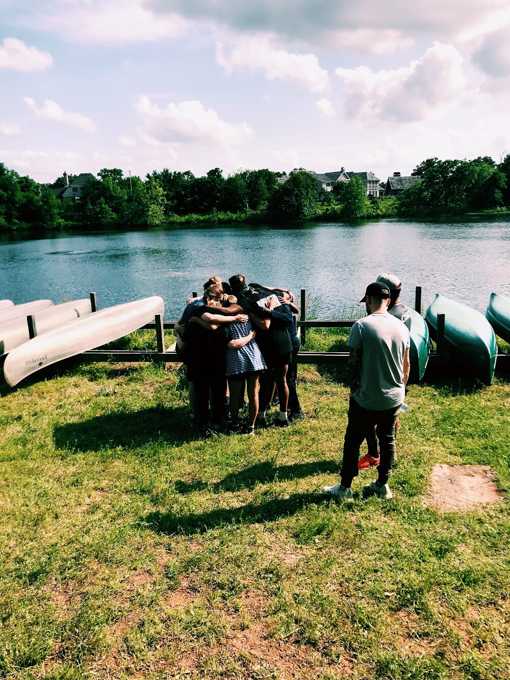 DURING ATHLETICS, TEAMS WERE CHALLENGED EMOTIONALLY, SPIRITUALLY, AND PHYSICALLY TO LEAN ON THE LORD AND ONE ANOTHER DURING DIFFICULT SITUATIONS.