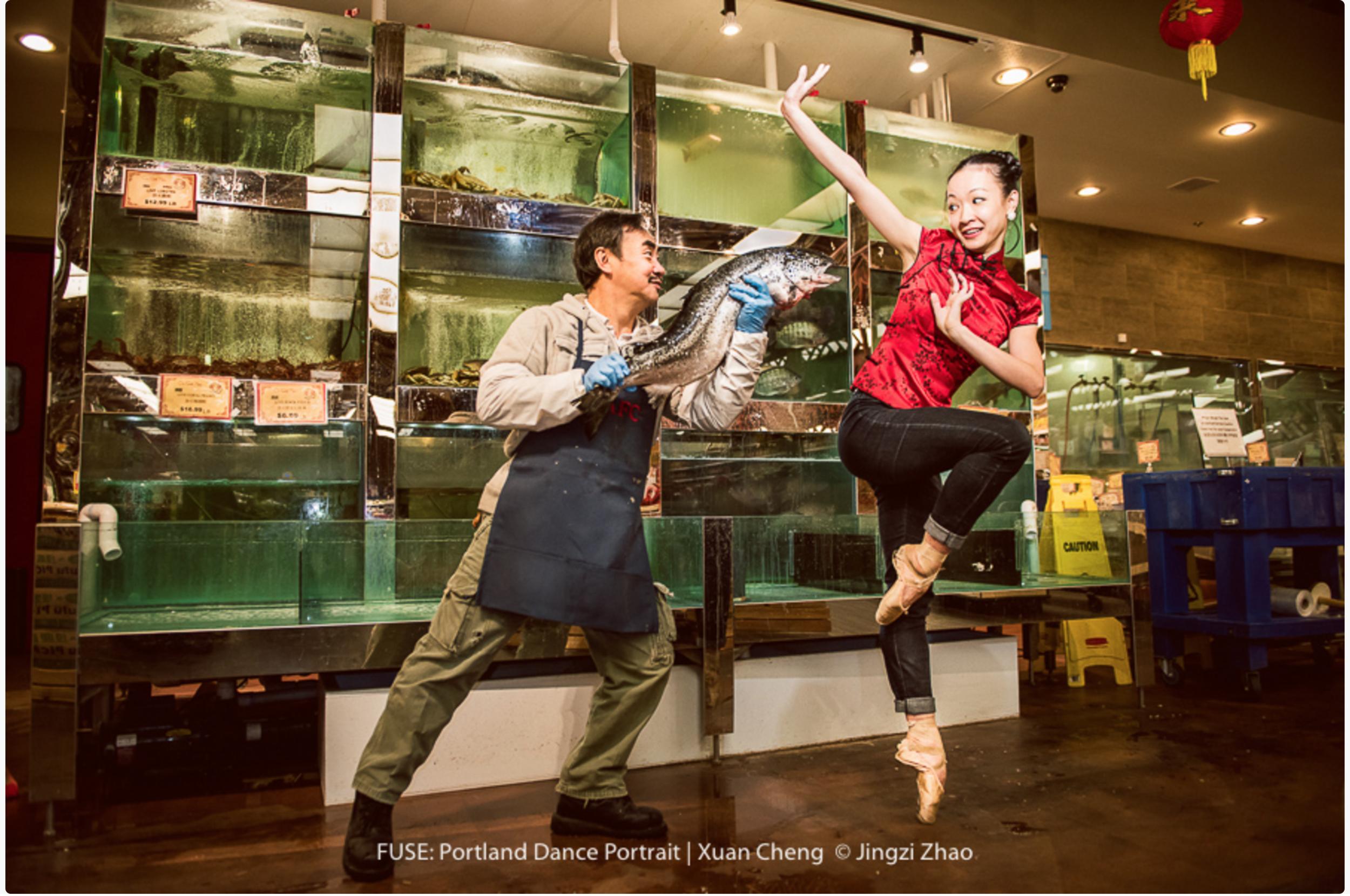 Xuan Cheng at Oregon Ballet Theater