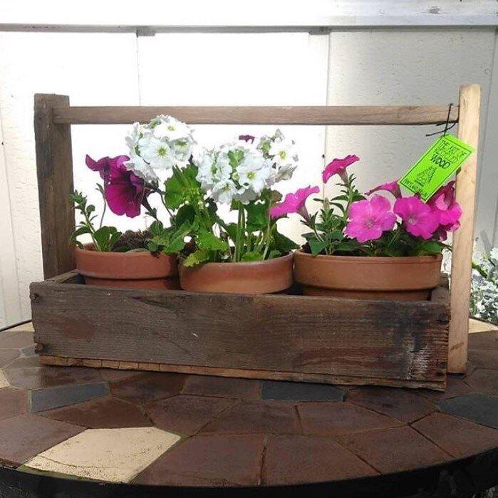 Reclaimed Wood Planter Box @theartofwoodpdx