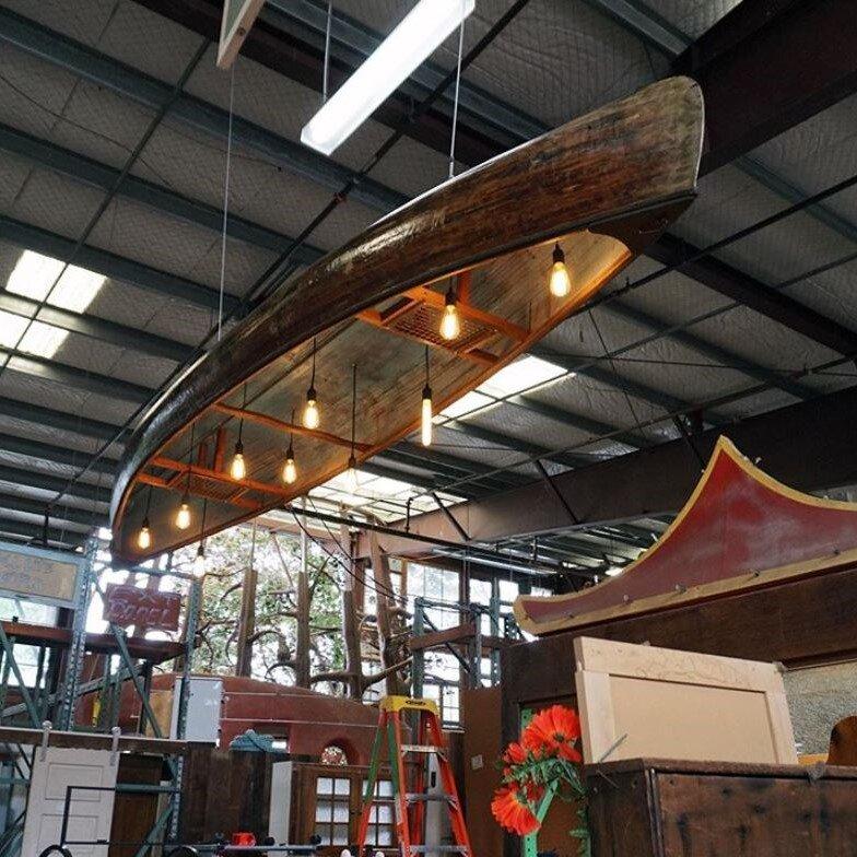 Reclaimed Boat Light Fixture  ReBuilding Center