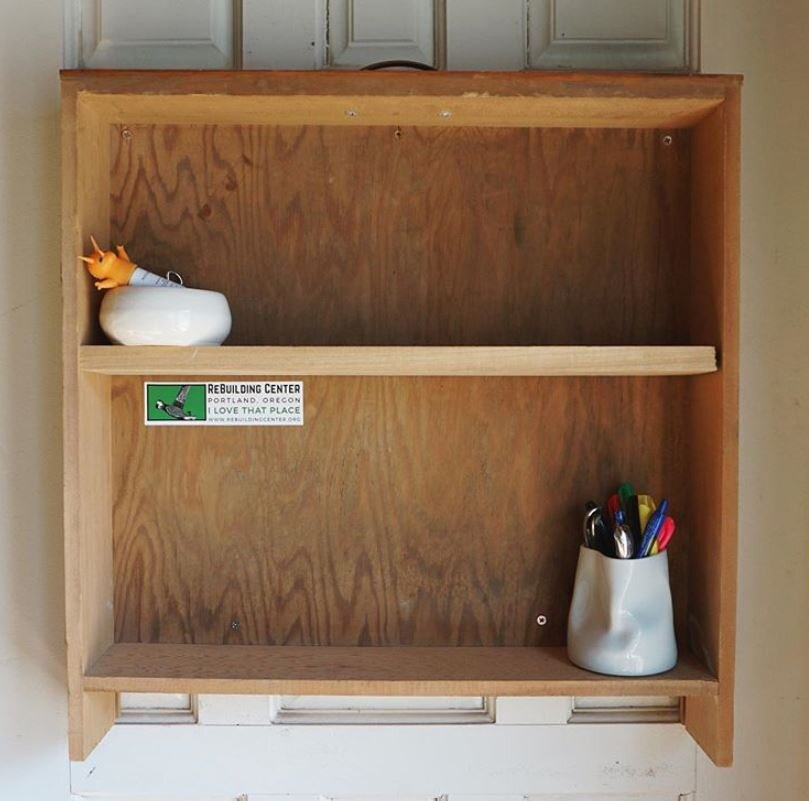 Reclaimed Drawer Shelf  ReBuilding Center