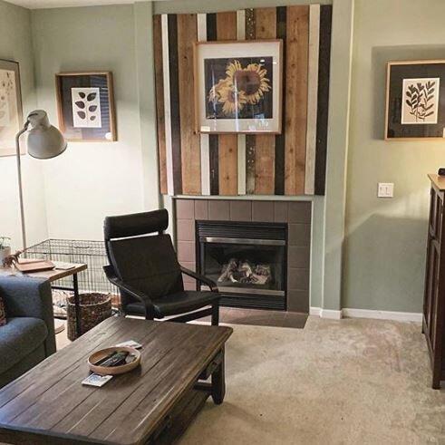 Reclaimed Wood Wall  @danstark