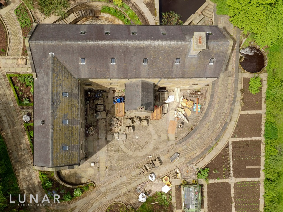 cheshire drone aerial roof survey photograph