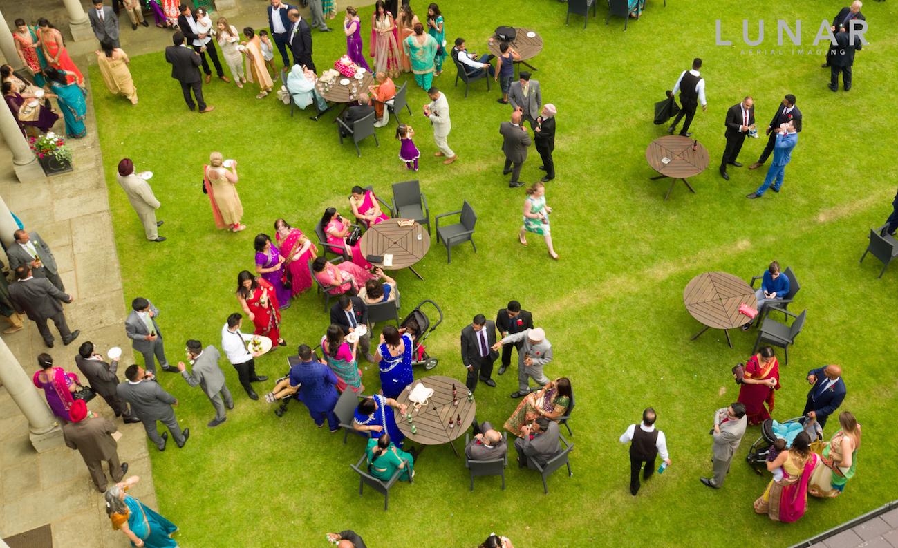 Asian Wedding party drone video northwest .jpg