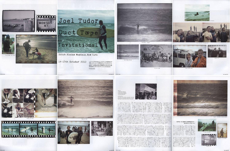 On the Board Magazine (JPN) • Joel Tudor Duct Tape Invitational •Montauk NY.