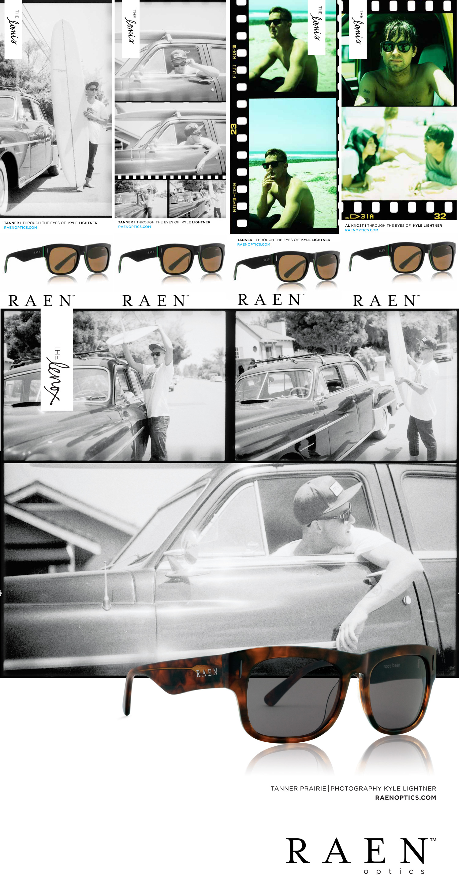 RAEN Optics Ads.
