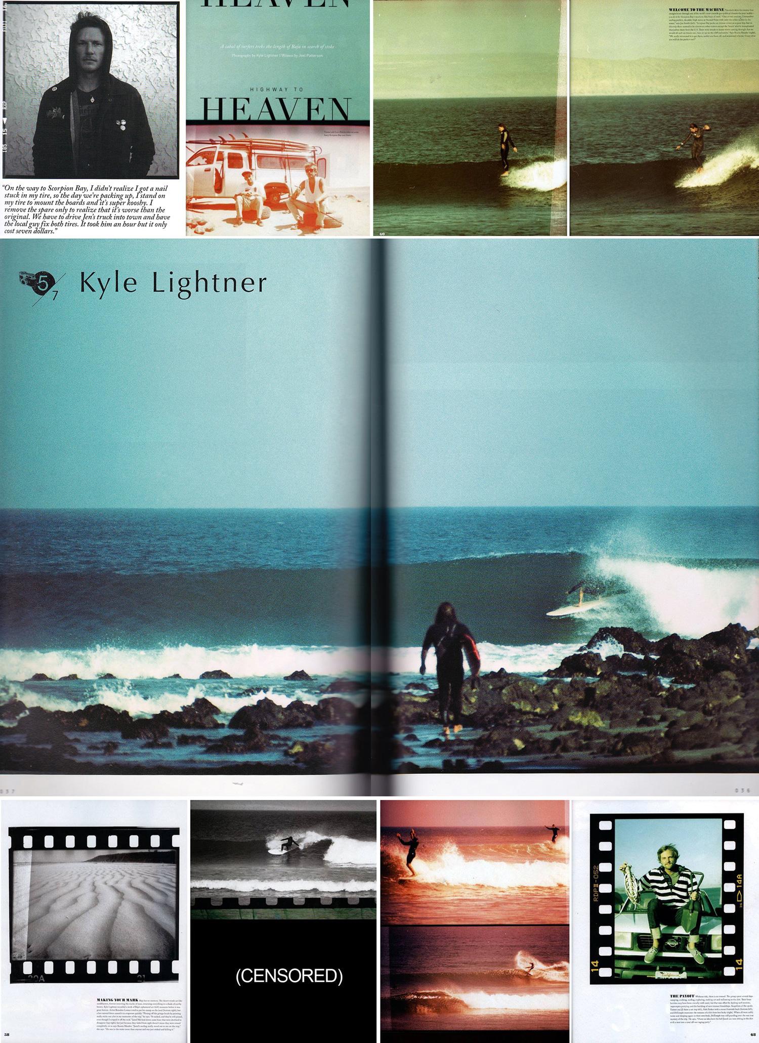 """FOAM Magazine • """"Highway to Heaven"""" Article • Baja Sur."""