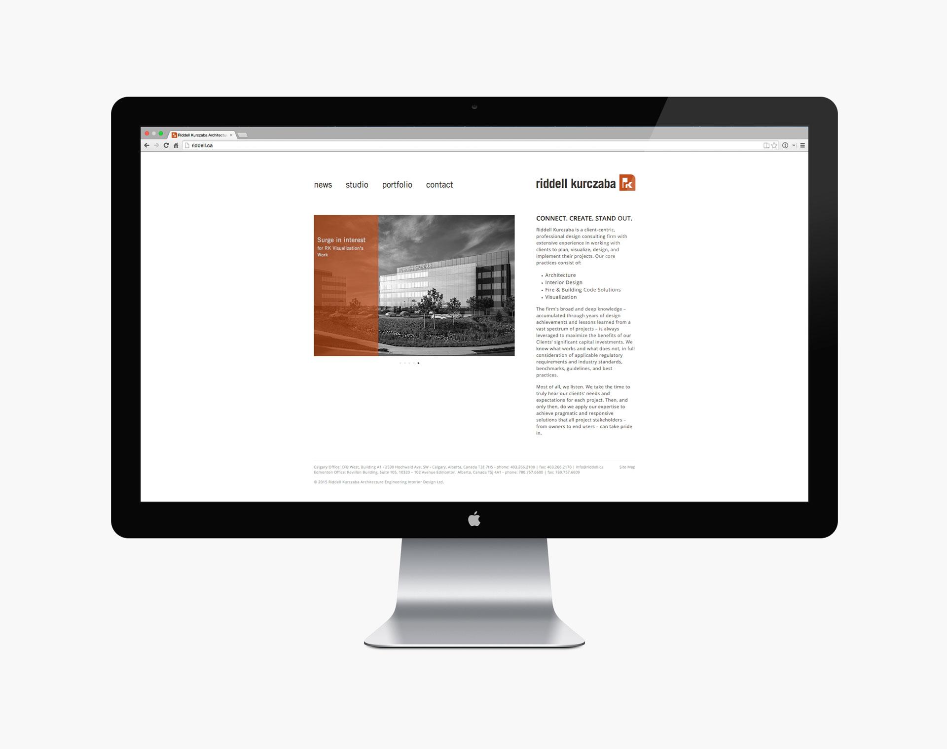Riddell Kurczaba Website Redesign