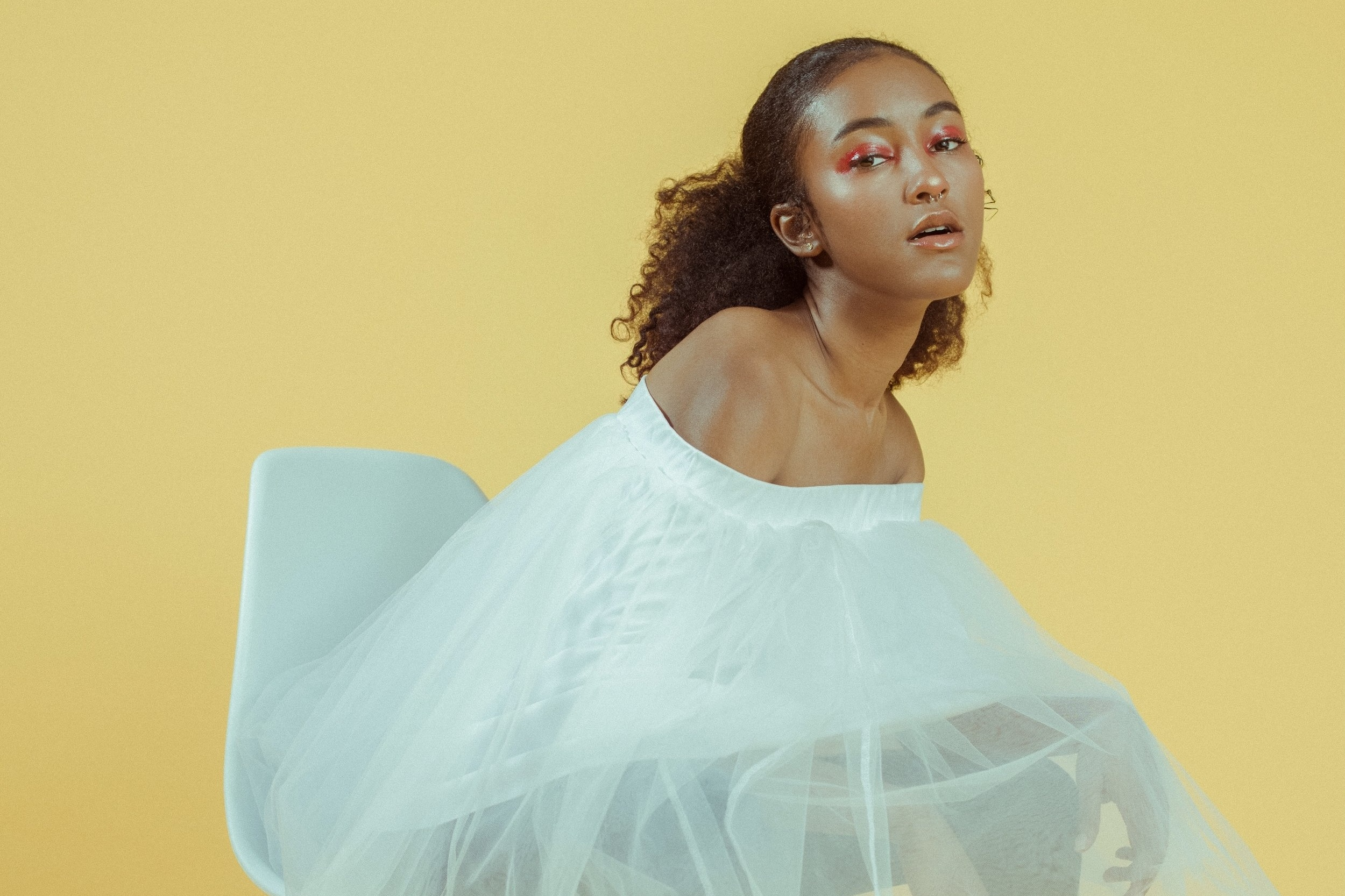 fatale // september 2017 - art direction + wardrobe: piera moore // photographer: nisshoots // model: piera moore