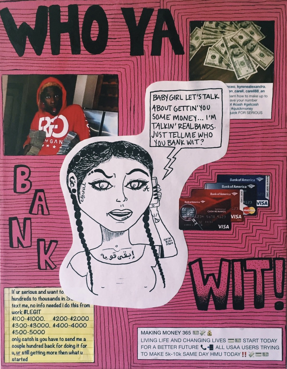 """who ya bank wit?"" (2016)"